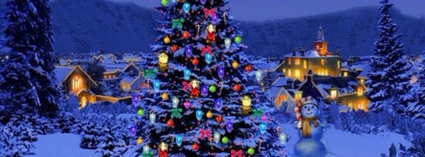 Christmas Facebook Cover Photo.Facebook Cover Photos Christmas Trees Snow Graphgoods Com